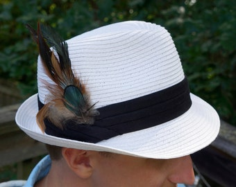 Feather Hat or Lapel Trim - ZUCKER® Feather Place Original Designs