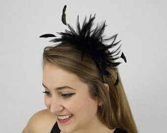 Feather Headbands & Clip