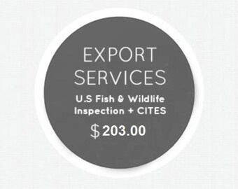 Export Services - U.S. Fish & Wildlife Inspection + CITES Certification ZUCKER®