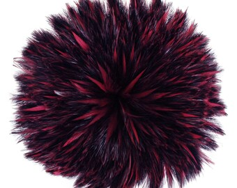 "Rooster Feathers, 4-6"" FIG Rooster Hackle Strung Craft Feathers ZUCKER®"