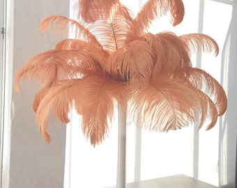 "25 Ostrich Feathers 17""- 20"" LONG - 25pc/pkg - Perfect for Feather Centerpieces, Party Decor, Millinery and Costume ZUCKER™"