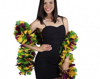 Mardi Gras Feather Boa - Carnival Costume Party and Showgirl Feather Boa ZUCKER®