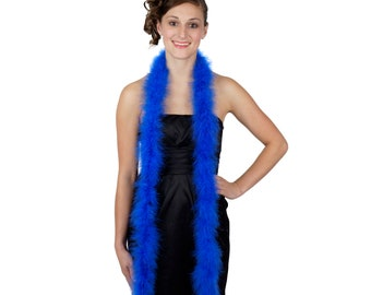 ROYAL Marabou Feather Boas 6FT - For DIY Art and Crafts, Carnival, Fashion, Halloween Costume Design, Home Decor and more ZUCKER®