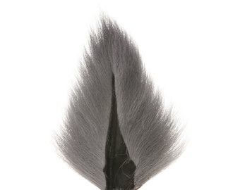 Deer Tails Dyed (ID) over Natural - For Fly Fishing, Fly Tying ZUCKER™