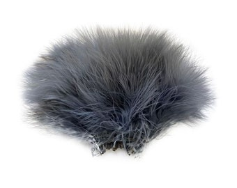 BLUE DUNN Strung Marabou Turkey Feathers - For Fly Fishing, Fly Tying, D.I.Y Arts and Crafts ZUCKER®