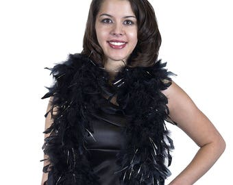 Chandelle Boas Heavy Weight w/Lurex - Perfect for Costume Parties, Halloween, Photobooth and Event Decor ZUCKER®