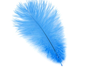 "SKY Bulk 9-12"" Ostrich Feathers 1/4LB - For Feather Centerpieces,Party Decor,Millinery,Carnival,Fashion & Costume Design ZUCKER®"