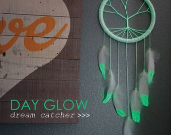Day Glow Dream Catcher - For Teens Bedroom and Dorm Decor, Great Housewarming Gift ZUCKER®