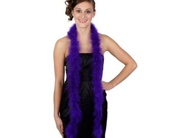 REGAL Marabou Feather Boas 6FT - For DIY Art and Crafts, Carnival, Fashion, Halloween Costume Design, Home Decor and more ZUCKER®