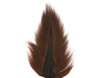 Deer Tails Dyed (BOB) over Natural - For Fly Fishing, Fly Tying ZUCKER®