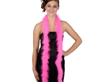 PINKORIENT Marabou Feather Boas 6FT - For DIY Art and Crafts, Carnival, Fashion, Halloween Costume Design, Home Decor and more ZUCKER®