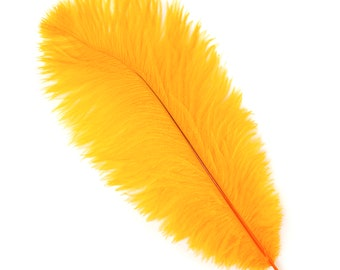 """MANGO Bulk 13-16"""" Ostrich Feathers 1/4LB - For Feather Centerpieces,Party Decor,Millinery,Carnival,Fashion and Costume Design ZUCKER®"""