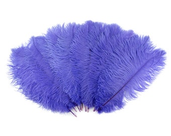 """Ostrich Feathers 13-16"""" LAVENDER - For Feather Centerpieces,Party Decor,Millinery,Carnival,Fashion and Costume Design ZUCKER®"""