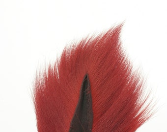 Deer Tails Dyed (HR) over Natural - For Fly Fishing, Fly Tying ZUCKER™