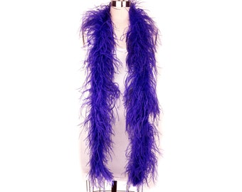 REGAL 2 Ply Ostrich Feather Boas -  Ostrich Feather Boa for Fashion, Costume Design and Special Events - 2 Yards (6 Feet) ea ZUCKER®