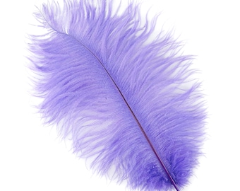 """LAVENDER Bulk 13-16"""" Ostrich Feathers 1/4LB For Feather Centerpieces,Party Decor,Millinery,Carnival,Fashion and Costume Design ZUCKER®"""