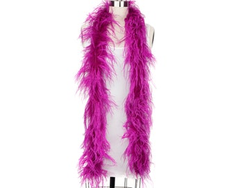 VERY BERRY 2 Ply Ostrich Feather Boas -  Ostrich Feather Boa for Fashion, Costume Design and Special Events - 2 Yards (6 Feet) ea ZUCKER®