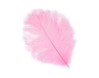 "12 CANDY PINK 13-16"" Ostrich Feathers - Perfect for Medium Feather Centerpieces & Bouquets, Party Decor, Millinery, Costume Design ZUCKER®"