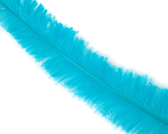 "Ostrich Nandu Feathers, Light Aqua Ostrich Feather Nandus 13-24"", Wholesale Carnival & Costume Feathers ZUCKER®"