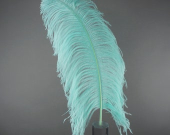 """MINT 25 Large Ostrich Feathers 17-25"""" 25pc/pkg - For Feather Centerpieces, Party Decor, Millinery , Carnival , Costume ZUCKER®"""