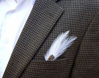 Feather Hat or Lapel Trim - BP5200 IVORY ZUCKER®