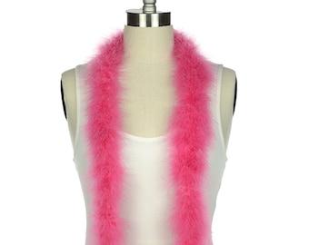 RASPBERRY Marabou Feather Boas 20 Grams 2 Yards For DIY Art Crafts Carnival Fashion Halloween Costume Design Home Decor ZUCKER®