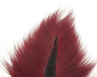 Deer Tails Dyed (MG) over Natural - For Fly Fishing, Fly Tying ZUCKER™