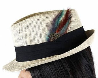 Feather Hat or Lapel Trim - BP5223--CPR-DKA-PL-N