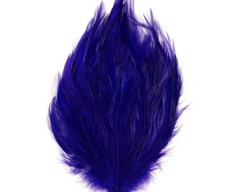 REGAL Dyed Hackle Pads - Feather Patches For Arts & Crafts, DIY Fascinators, Millinery, Fashion, Costume and Carnival Design ZUCKER®