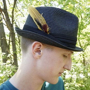 11c69cfb9d2 Hat Feathers - Feather Hat Trim or Lapel Trim ZUCKER®