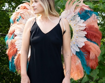 Feather Carnival Costume