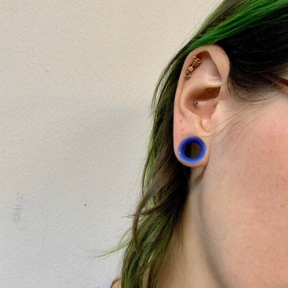 Clear Alien Skinz Soft Silicone Ear Plugs Tunnels Gauges Eyelets Ear Skins Thick Thin 8g 6g 4g 2g 0g 00g 12 916 58 1116 34 78 1