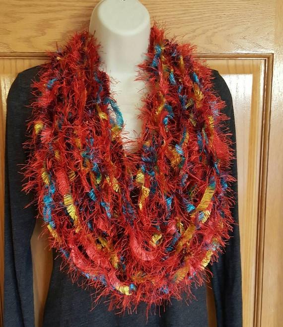 tricot écharpe foulard polyvalent cravates tricot écharpe   Etsy 575b42bb232