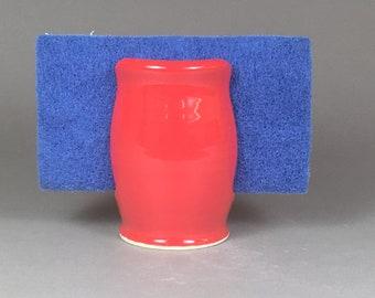 Sponge Holder, Ceramic Sponge Holder, Pottery Sponge Holder, Kitchen Sponge Dish, Handmade Sponge Keeper