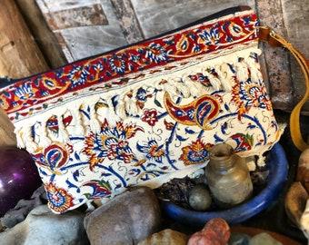 Bohemian Gypsy Clutch purse wristlet bag