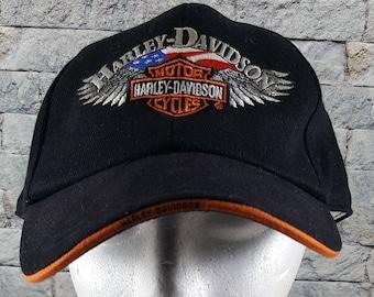 40a240ec70453 Harley davidson hat | Etsy