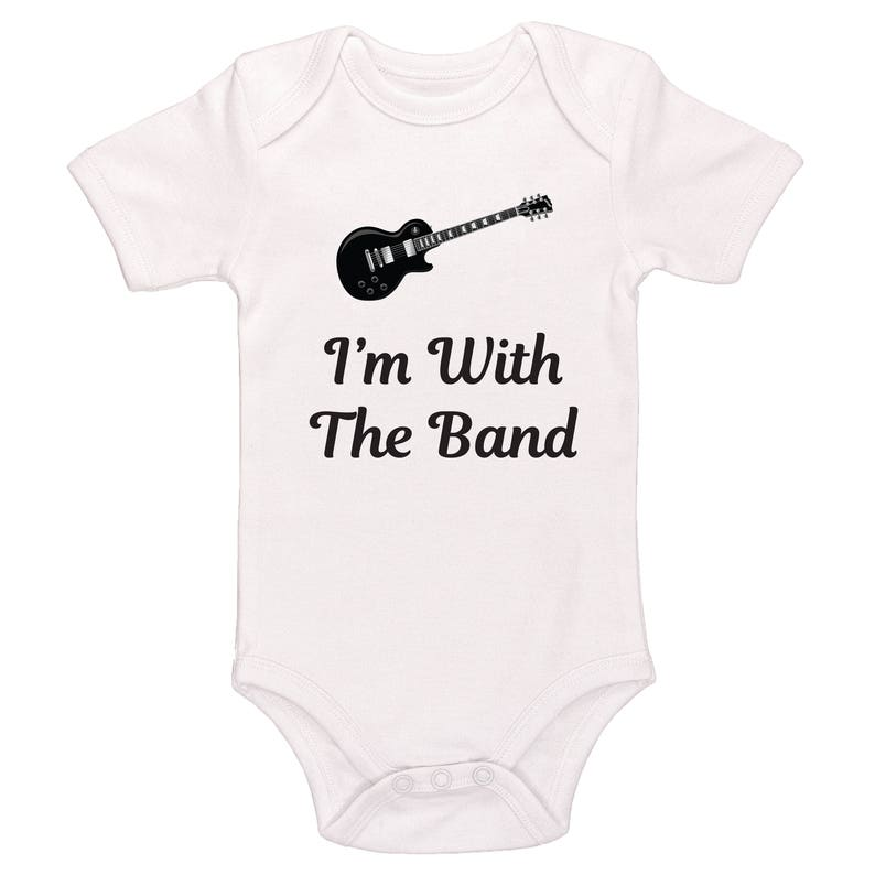 ecb7ff34 I'm With The Band Bodysuit Baby / Toddler Bodysuit | Etsy