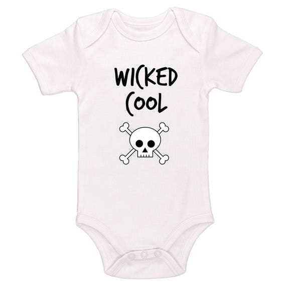 44d70afbf Wicked Cool Baby / Toddler Bodysuit Cute Baby Clothing For | Etsy