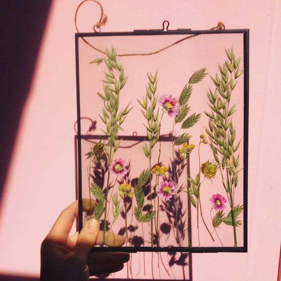 Dried flower herbarium hanging frame8 x 10 inches