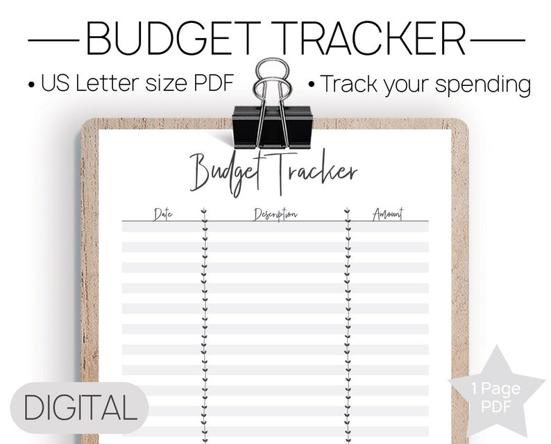 photograph relating to Spending Tracker Printable named Printable Finances Tracker No Shell out Tracker, Spending plan Template, Shelling out Tracker, Funds Tracker, Revenue Tracker, Particular person Finances, Payments