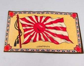 Original vintage cigar box label c1900 Set Pair In /& Out Embossed Bronzed Arizona The Arizonan Gerrard Rare