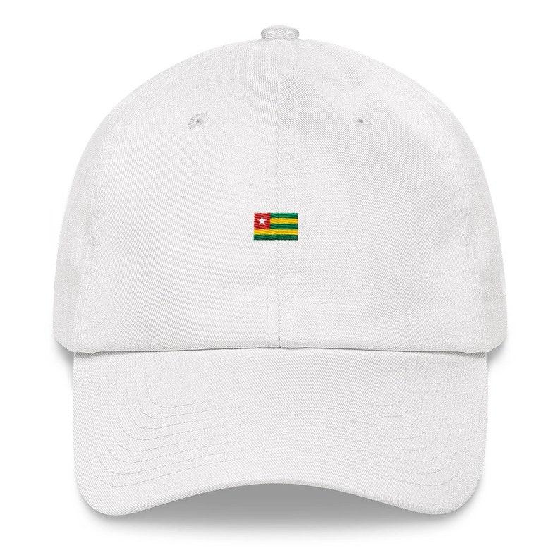 Togo Africa Pan African Dad Hat Logo Hat Athletic Urban Wear  8f3db05fa11