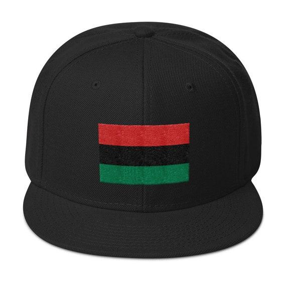 Pan African Snapback Hat Logo Hat Athletic Urban Wear Gift  6e5f5306bcf