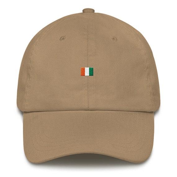Ivory Coast Pan African Dad Hat Logo Hat Athletic Urban Wear  c4a3b749a5f