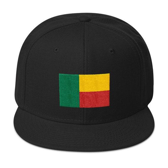 Benin Africa Snapback Hat Logo Hat Athletic Urban Wear Gift  a18dbb363a8