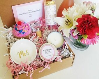 Engagement Gift Box Etsy