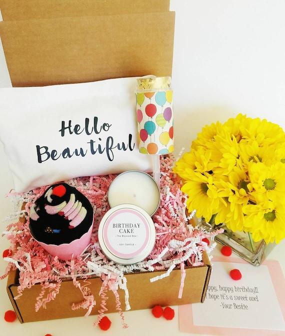 Birthday Gift Basket Best Friend Birthday Gift Birthday Gift For Her Birthday Gift Box Birthday Box For Her