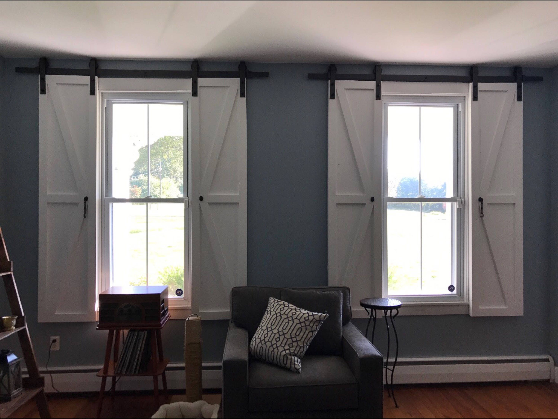 Indoor Barn Style Shutters