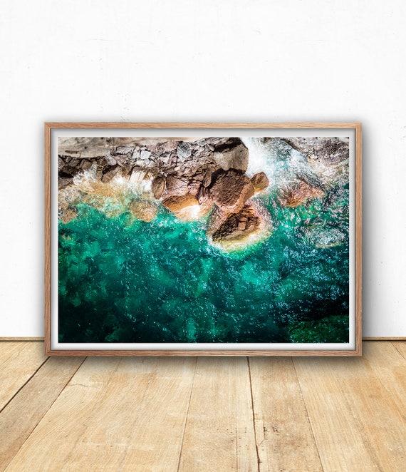 Coastal Print Seascape Wall Art Digital Download Landscape   Etsy