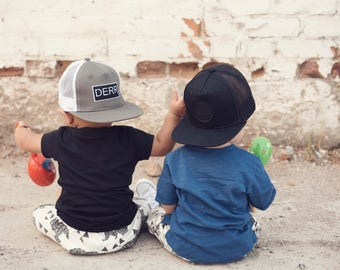 7e026b495558c0 real baby snapback the derr bundle of 2 baby snapback baby hat infant  snapback d7a69 cb8fb
